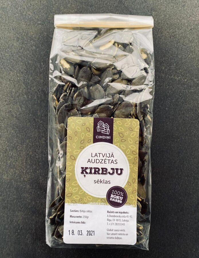 Ķirbju sēklas, 250 g