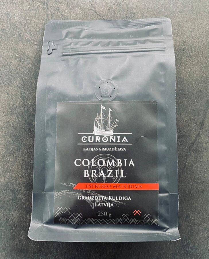 Kolumbija & Brazīlija Espresso maisījums 250 g