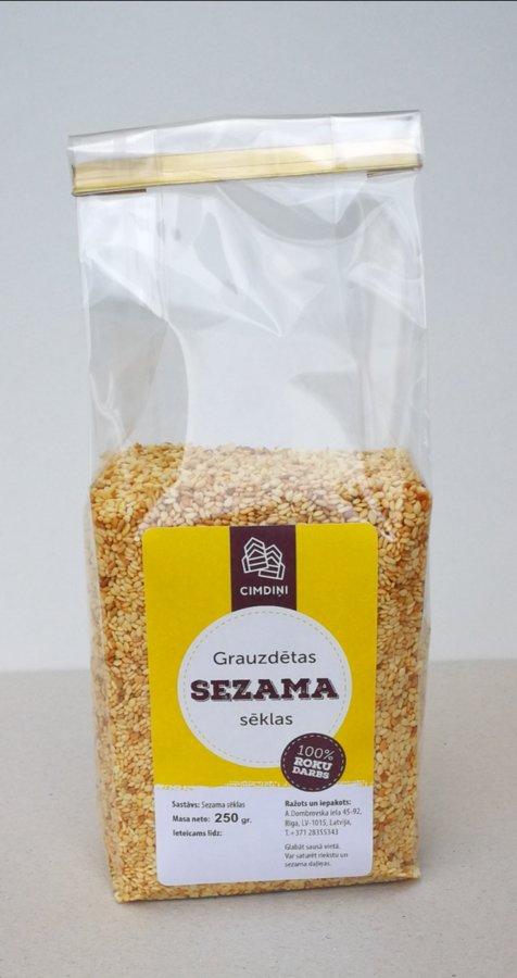 Sezama sēklas, 250 g
